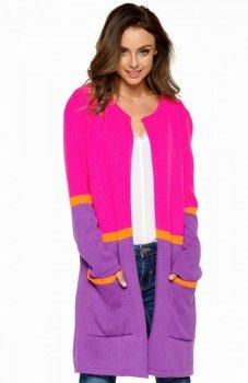Lemoniade LS227 sweter różowy
