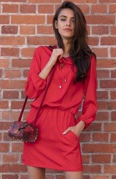 Fobya F544 sukienka czerwona
