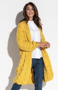 Fobya F573 sweter żółty