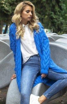 Fobya F573 sweter niebieski