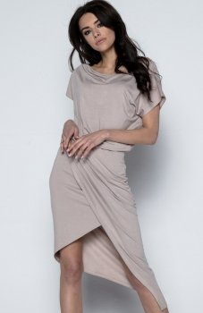Fobya F499 sukienka mocca