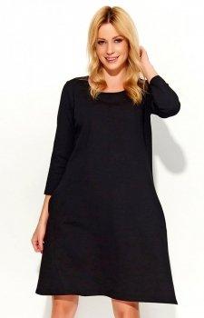 *Makadamia M375 sukienka czarna