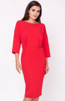 Nommo NA220 sukienka czerwona