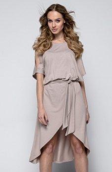 FIMFI I248 sukienka mocca