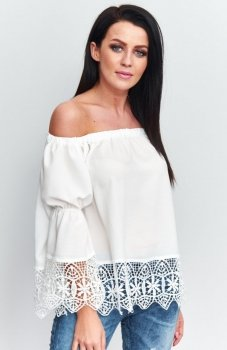 Roco B036 bluzka hiszpanka biała