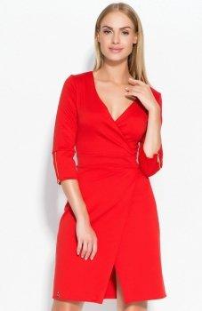 Makadamia M315 sukienka czerwona