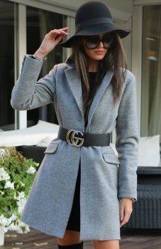 Roco P006 płaszcz szary