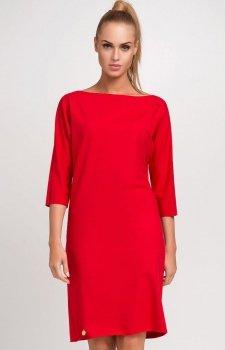 *Makadamia M236 sukienka czerwona