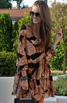 Roco 217 sukienka liście