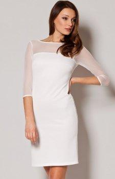 *Figl M237 sukienka ecru