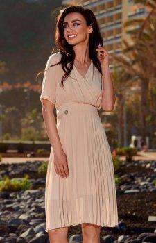 Lemoniade L255 sukienka beżowa