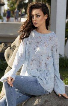 Lemoniade LS202 sweter błękitny