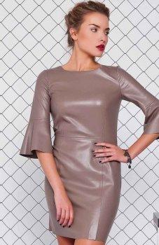 Cover GR1071 sukienka beżowa