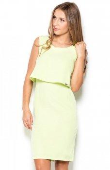 Katrus K388 sukienka zielona