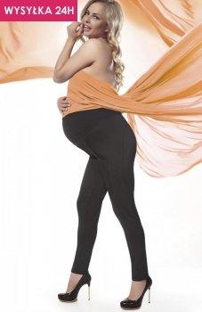 *Bas Bleu Stefanie legginsy ciążowe czarne