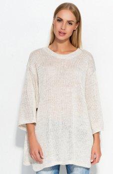 Makadamia S40 sweter beżowy