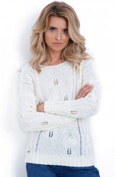 Fobya F624 sweter biały