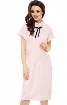Leminiade L234 sukienka pudrowy róż