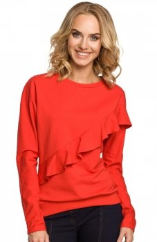 Moe M331 bluza czerwona