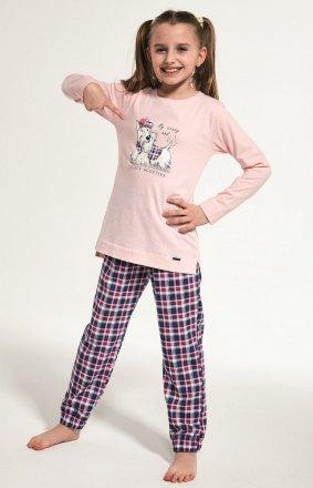 Cornette Kids Girl 780/113 Scottie dł/r 86-128 piżama dziewczęca