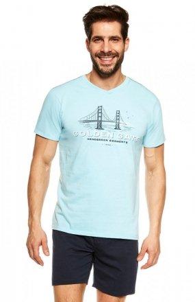 Henderson Piżama Joke 36826-50X Niebieska