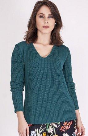 MKMSwetry Sweter Victoria SWE 123 Morski