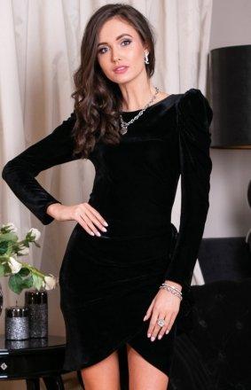 Wieczorowa sukienka z bufkami 270