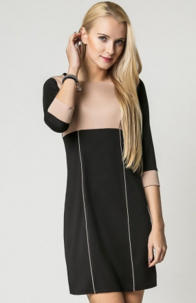 Vera Fashion Jeanette sukienka beż