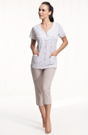 Luna 476 MAXI piżama damska