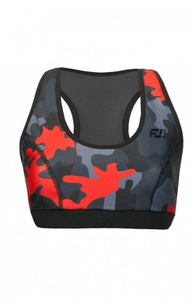 FeelJ! Camo red top push-up