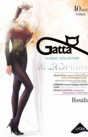 *Rajstopy Gatta Rosalia 40 den 2-4 czarny