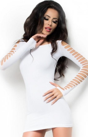 Chilirose CR-3608 sukienka biała