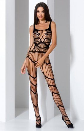 Pikantne bodystocking czarne BS058