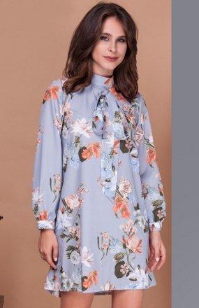 Milu by Milena Płatek MP399 sukienka szara