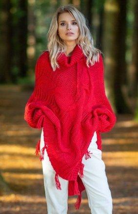 *Fobya F601 poncho czerwone