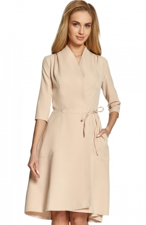Style S099 sukienka beżowa