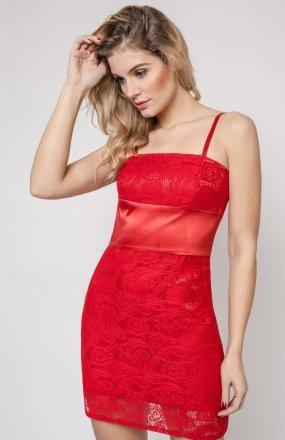 Vera Fashion Bella sukienka czerwona