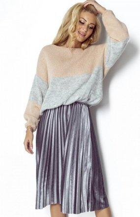 FIMFI I302 sweter morelowy