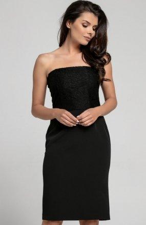 Nommo NA310 sukienka czarna