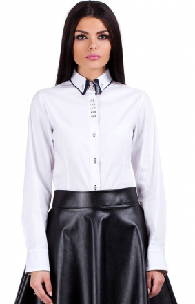 Moe MOE067 koszula biała