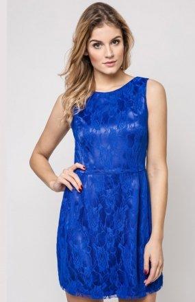 Vera Fashion Sonia sukienka chabrowa