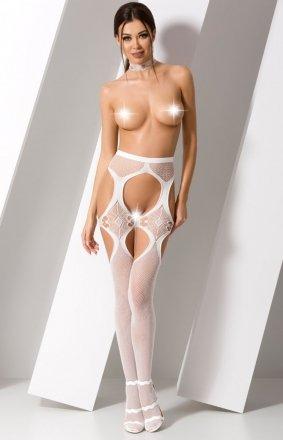 Seksowne strip panty białe S023