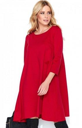 *Makadamia M452 sukienka czerwona
