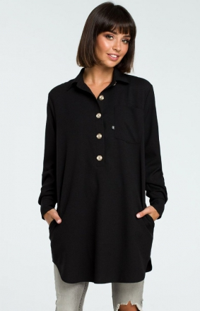 BE B086 koszula czarna