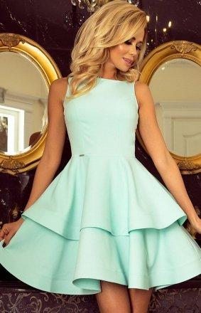 Numoco 169-4 Cristina sukienka miętowa