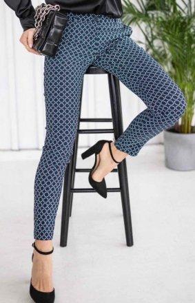 Dopasowane spodnie wzor Lola Fashion