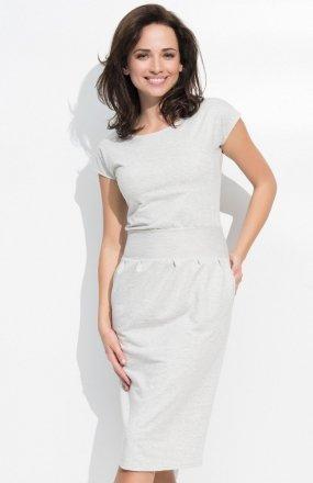 Numinou NU44 sukienka beżowa