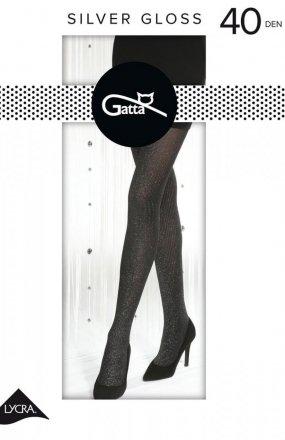 Gatta Silver Gloss nr 01 rajstopy