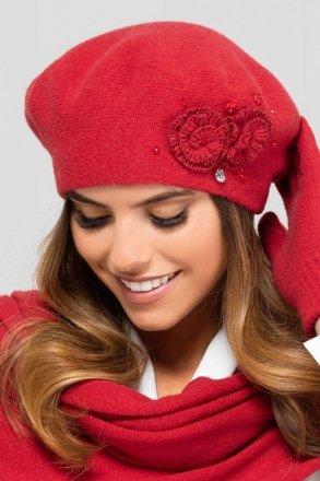 *Wełniany beret damski Kamea Barcelona