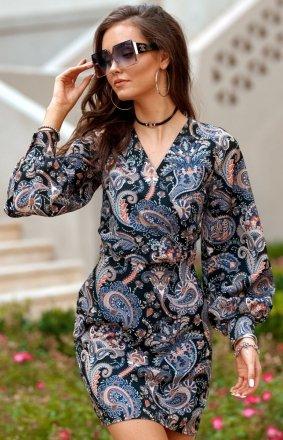 *Elegancka sukienka mini 0301/B16